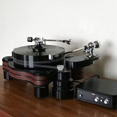 画像1: Hanss Acoustics T-30SE/Ikeda IT-407 CR-1 Matrix AR-C32/Long Arm Base Player System