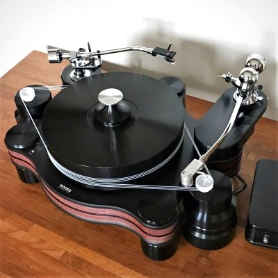 画像2: Hanss Acoustics T-30SE/Ikeda IT-407 CR-1 Matrix AR-C32/Long Arm Base Player System
